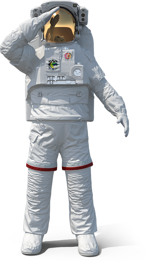 astronaut-nasa-extravehicular-mobility-unit-rigged-saluting-copia
